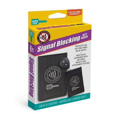 Signal Blocking Key Hider
