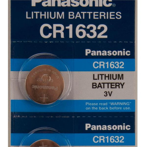 CR1632 Car Alarm and Remote 3 Volt Lithium Battery