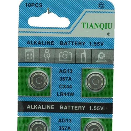 1.5 Volt AG13 A76 Battery (LR44)