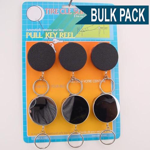 Key Retractor Metal Standard - Bulk Pack