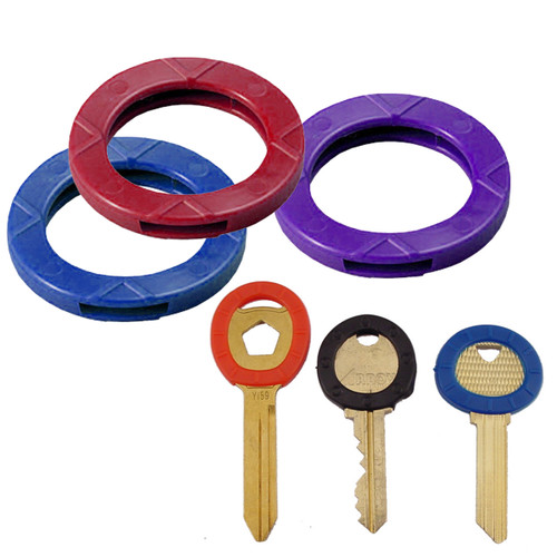 Large Key Identifier Ring/Collars