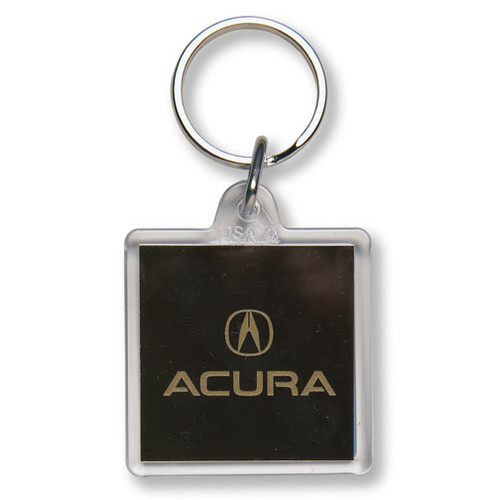 Custom Printed Clear Acrylic Fob Square