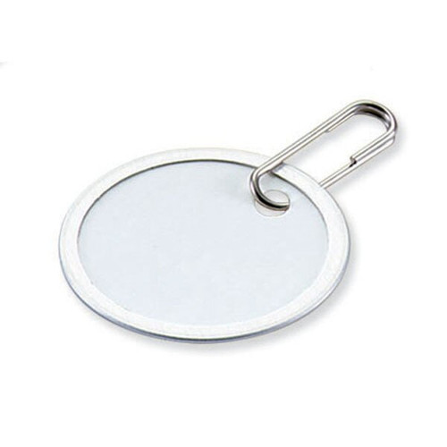 Metal Rim Paper Tag with Clip 1-9/16  Inch