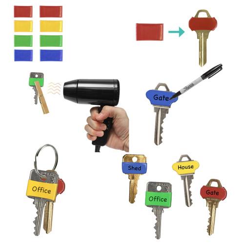 Key head identifier bands