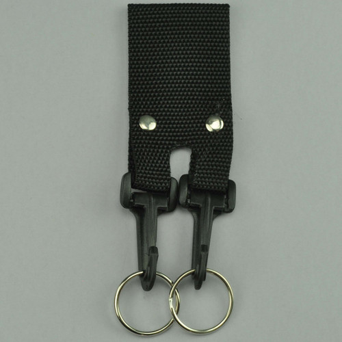 Nylon Belt Key Holder Double Hooks