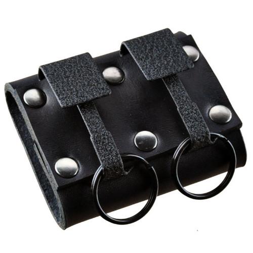 Okays Ultimate Key Keyper Black Dual Key Safe Belt Key Holder