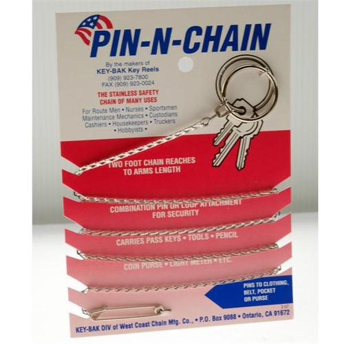 Pin N Chain by Key-Bak 24 Inch Chain