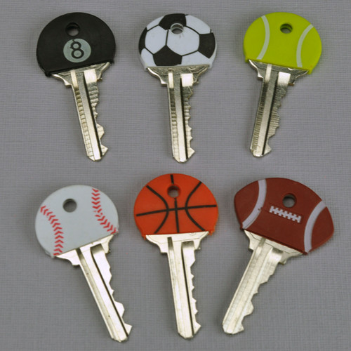 Sports Ball Key Cap Key Head Cover