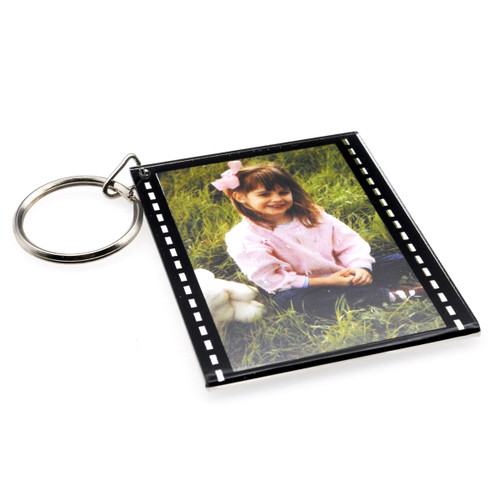 Photo Holder Keychain - 35mm Filmstrip