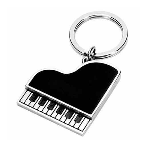 Piano Keychain Black