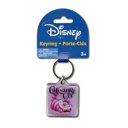 Cheshire Cat Lucite Keychain