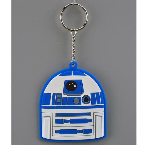 Star Wars Flat Vinyl Keychain-R2D2