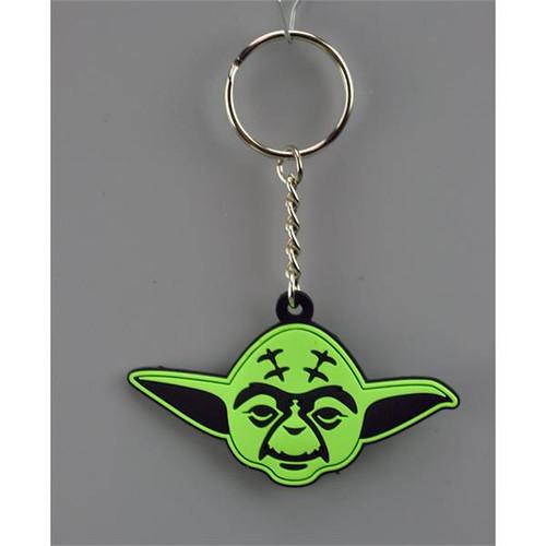 Star Wars Flat Vinyl Keychain-Yoda