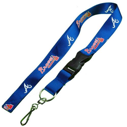 Atlanta Braves Logo Lanyard Keychain
