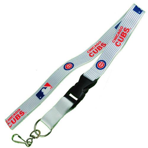 Chicago Cubs Logo Lanyard Keychain