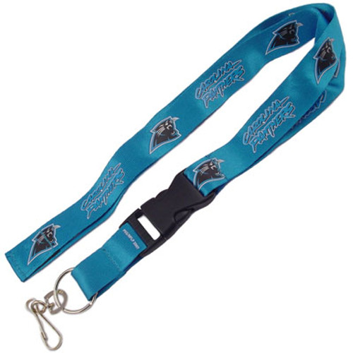 Carolina Panthers Lanyard Keychain