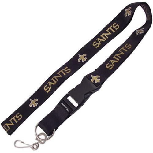 New Orleans Saints Lanyard Keychain