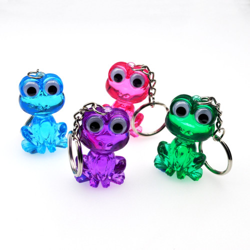 Crystal Frog Keychain All Colors