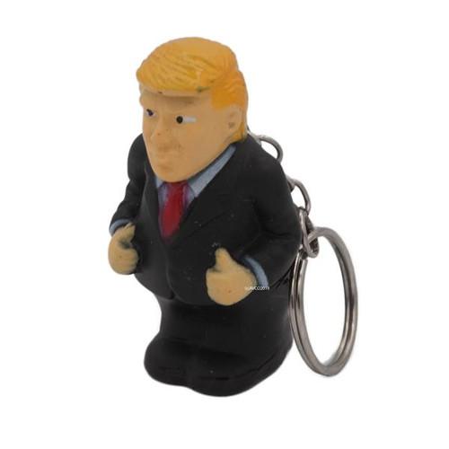 Trump Squeeze Poo Keychain