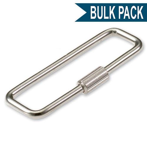 Turn Sleeve Key Ring Bulk Pack of 100