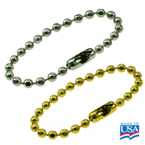 Ball Chain 4-1/2 Inch Length