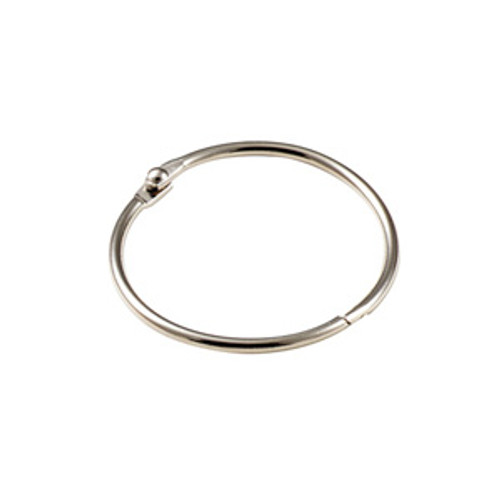 Binder Ring Snap Open Keyring 1 Inch Diameter