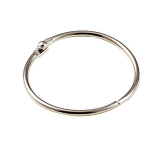 Binder Ring Snap Open Keyring 2 Inch Diameter