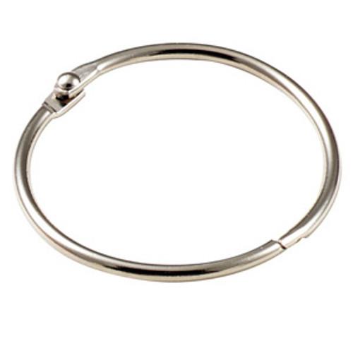 Binder Ring Snap Open Keyring 3 Inch Diameter