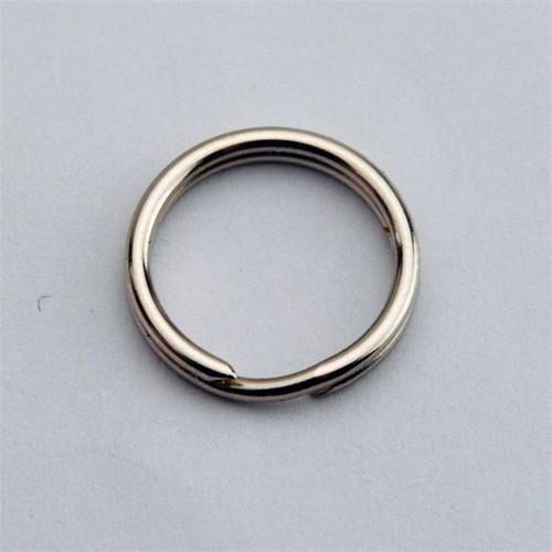 25/64 Inch Diameter Fine Gauge Thin Split Key Ring