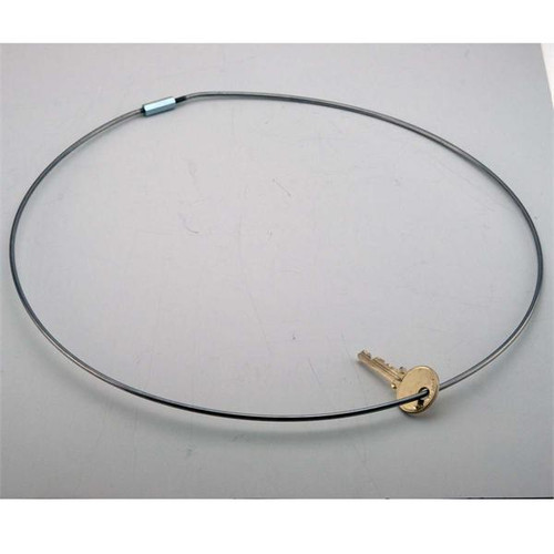 Threaded Locking 11 Inch Diameter Jumbo Keyring