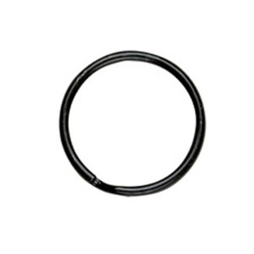 Black Split Key Ring 28 mm (1 Inch)