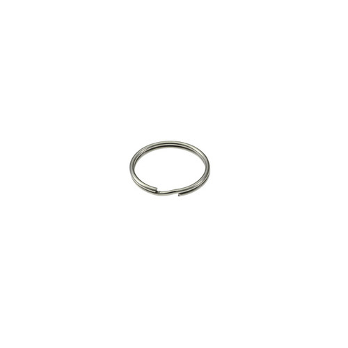 Photo of Heavy Duty Split Key Ring Nickel Plated 1/2 Inch Diameter (USA)