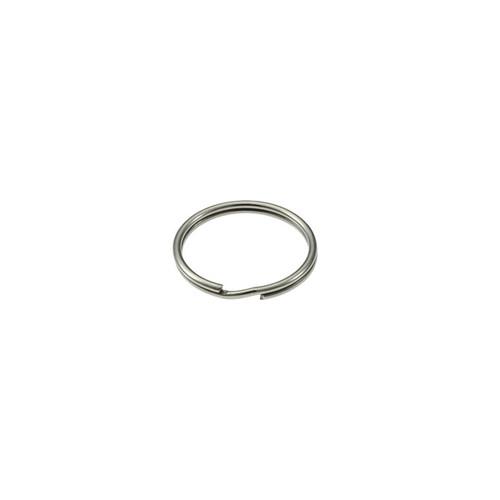 Photo of Heavy Duty Split Key Ring Nickel Plated 5/8 Inch Diameter (USA)