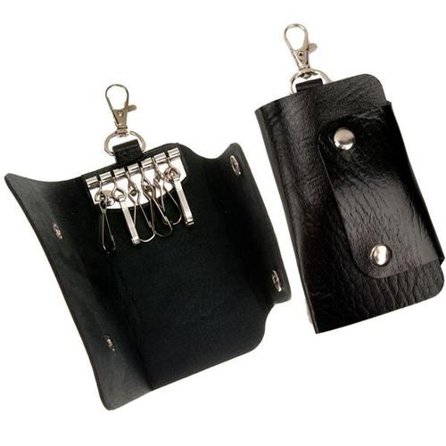 6 Hook Snap Key Case with Split Key Ring
