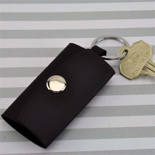 4 Hook and Strap Leather Key Case Heavy Duty