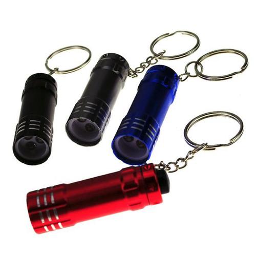3 LED Deluxe Flashlight Keychain