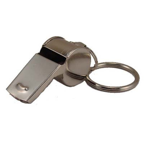 Metal Referee Whistle Keyring