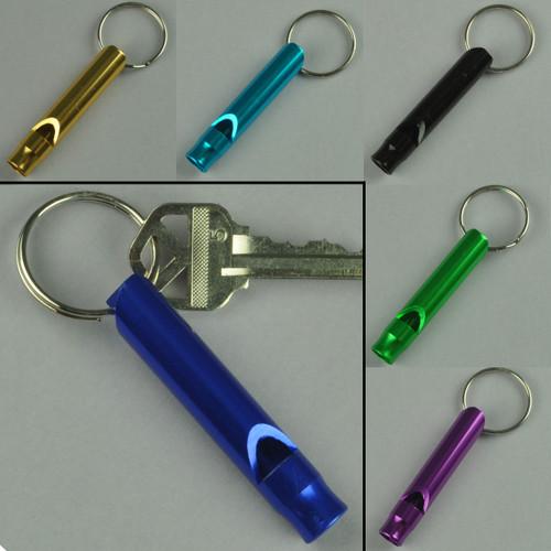 Whistle Keychain Aluminum Tube