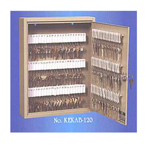 120 Tag Locking Metal Key Cabinet