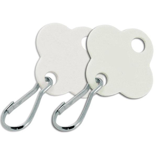 Shamrock Shape Key Cabinet Tag