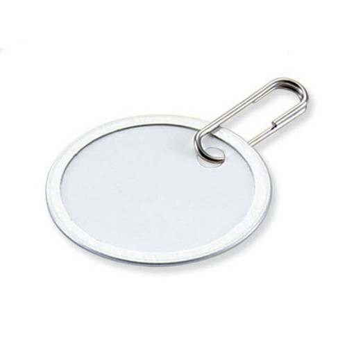 Metal Rim Paper Tag with Clip 1.25 Inch