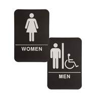 Bathroom and Restroom Signs