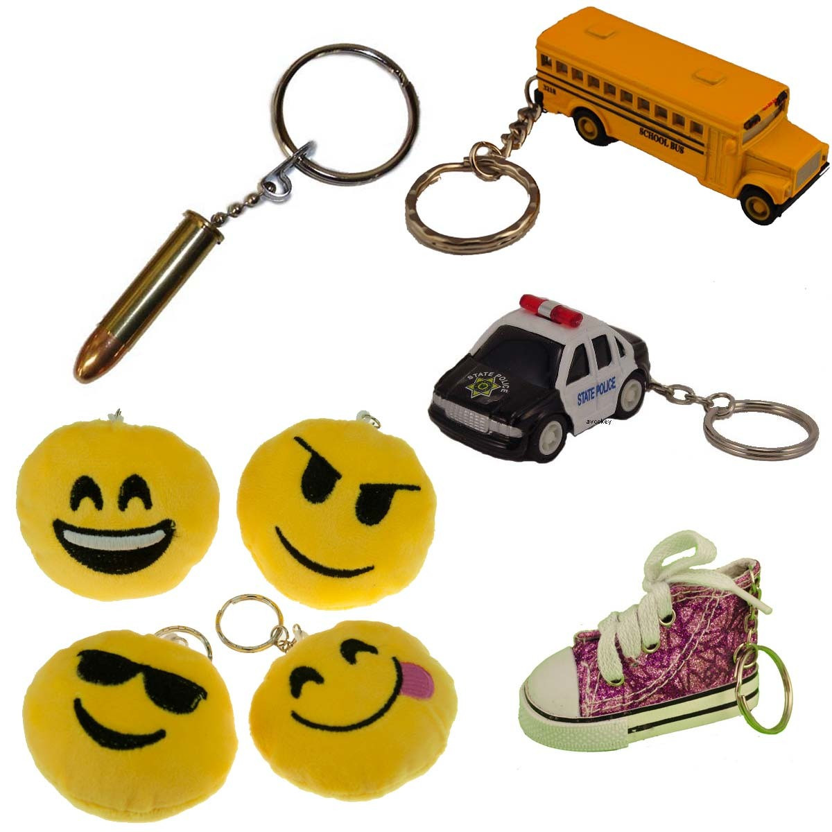 Fun and Cool Key Rings