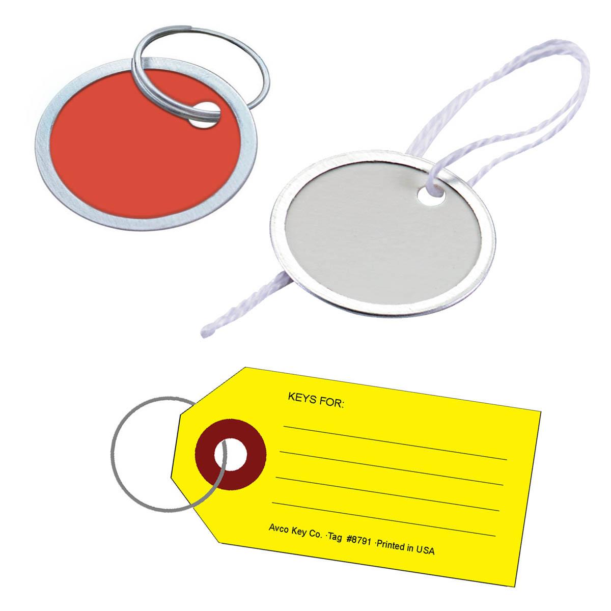 Paper Key Tags