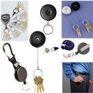 Retractable Key Holders and Keychains