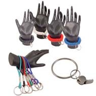 Wrist Key Holders - Coils and Wristbands