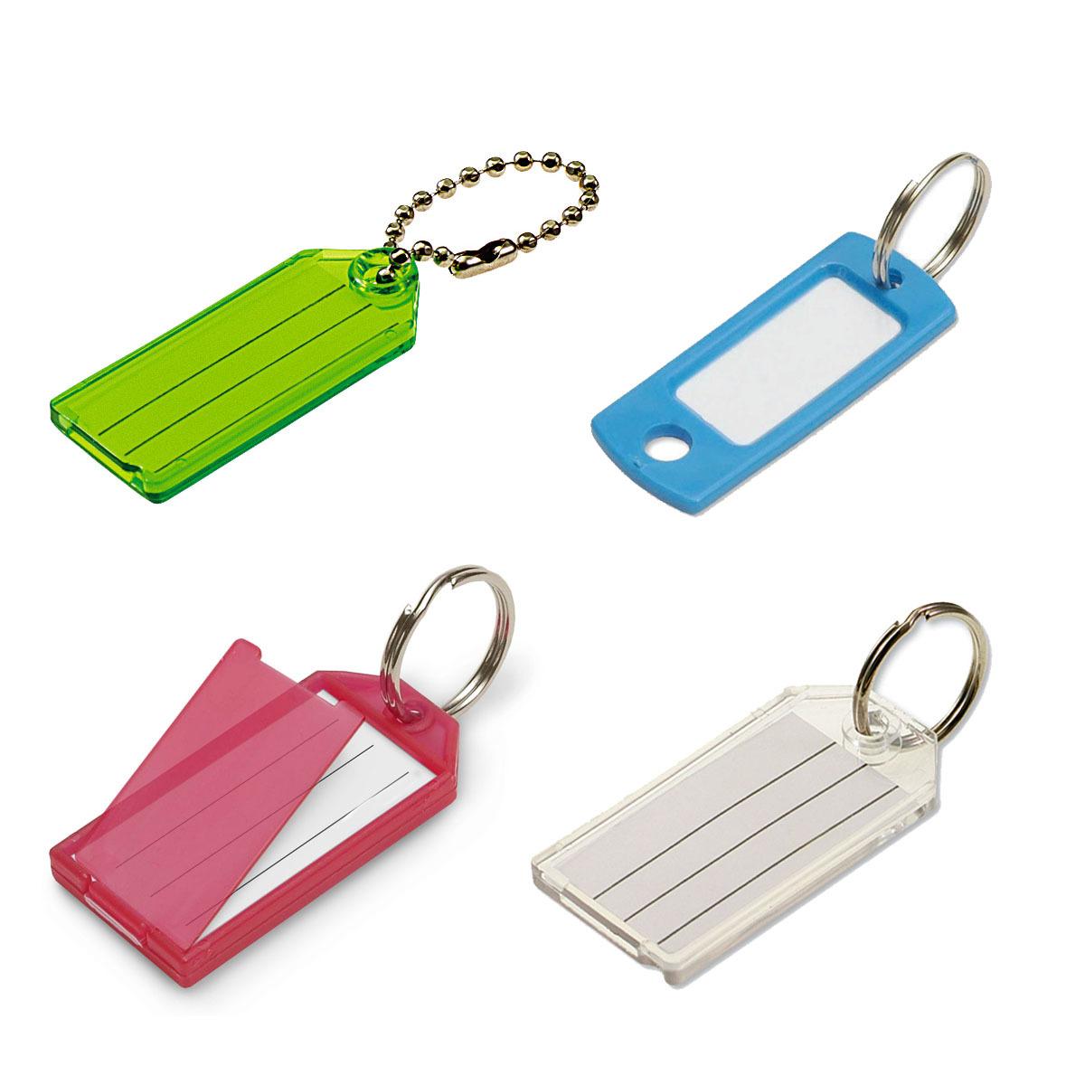 Plastic Key Tags