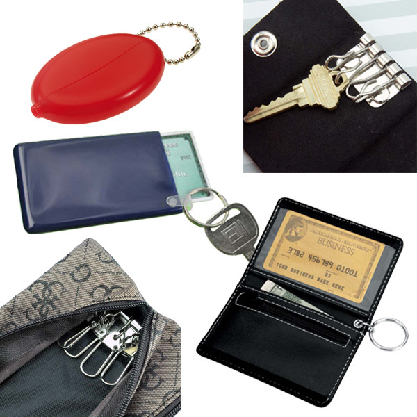 Key Cases, Coin Purses and Wallets