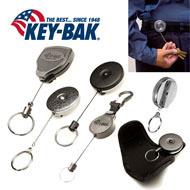 Key-Bak Brand Key Retractors