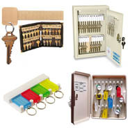 Key Storage, Key Cabinets and Key Organizers
